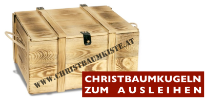 Christbaumkiste